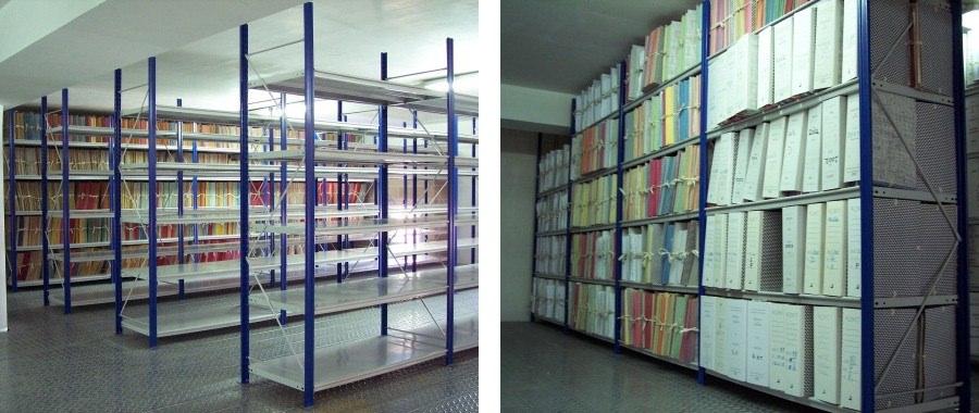 Scaffalature Per Archivio.Scaffali Per Archivio Documenti Mobilia