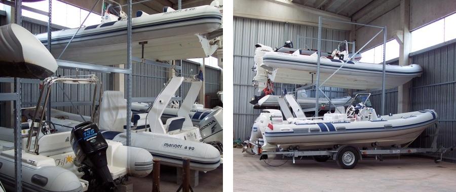 1. Il nostro ufficio tecnico progetta soluzioni per il rimessaggio di barche